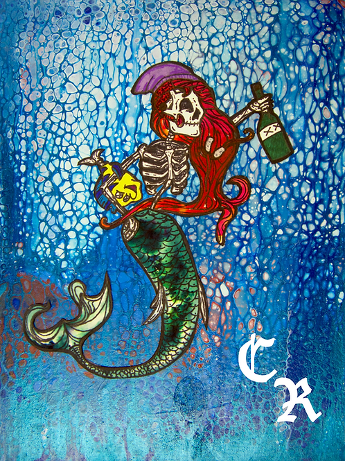 Haunted Ariel Collaboration