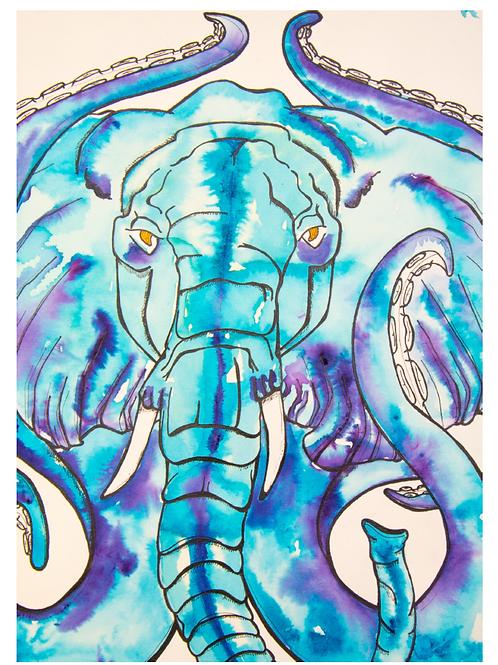 Elephant Makara