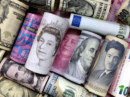 Dollar falls as Rate hike uses profile rates elsewhere, yuan hits 4-month high