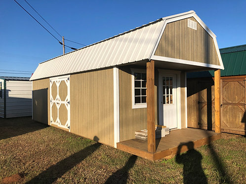 10x28 Lofted Barn Cabin w/ Electric REPO