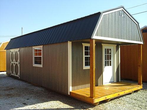 12x32 Lofted Barn Cabin Poly