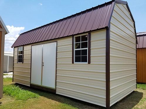 10x20 Metal Side Lofted Barn