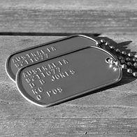 US Military Dog Tags, ID Tags