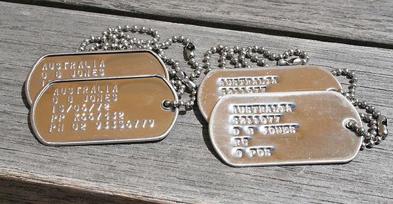 US dog tags