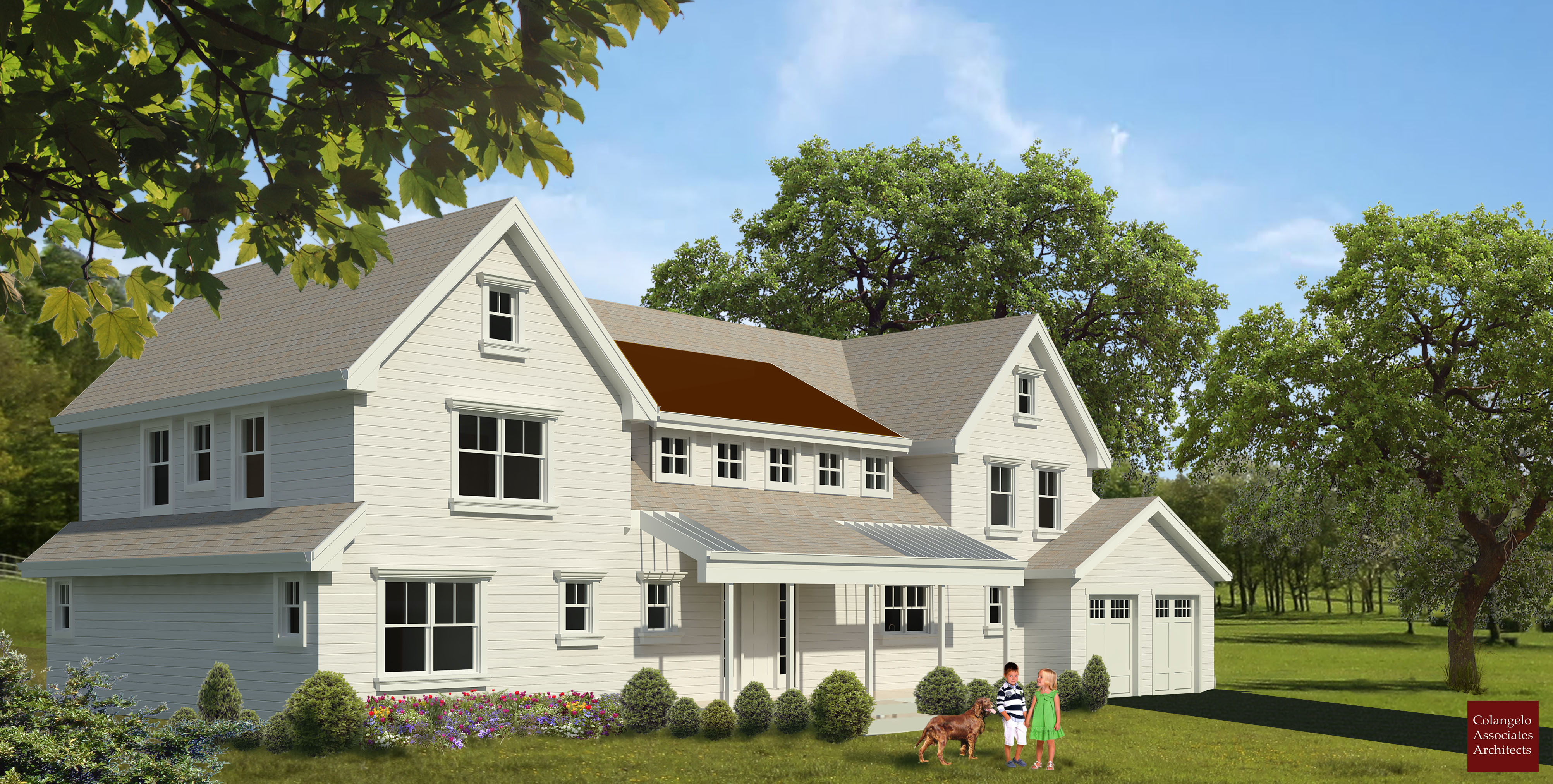 Traditional home design-Connecticut