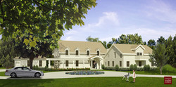 Traditional home design in Greenwich