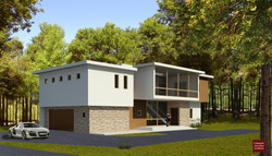 Contemporary home design-Connecticut