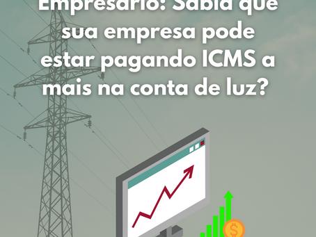 Restituição do ICMS sobre Energia Elétrica contratada e não consumida.