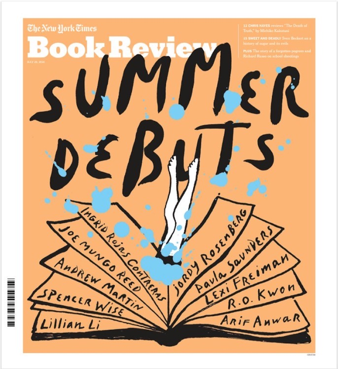 Cover of the New York Times Books Review