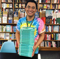 Bookseller at Politics and Prose