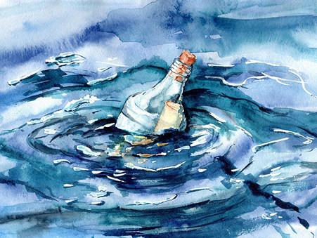 The Gifted Artist: DIY Art in a Bottle Kit