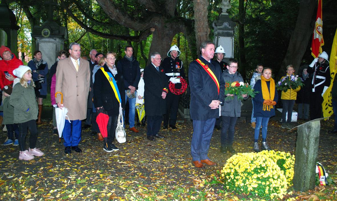 Remembrance Service in Poperinge