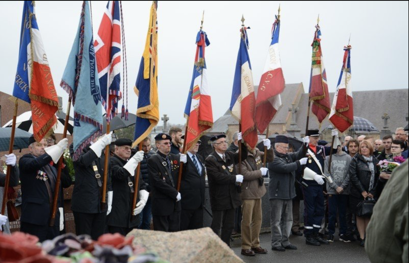 Armistice day in Berck