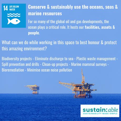 UN Goal 14 – Life Below Water