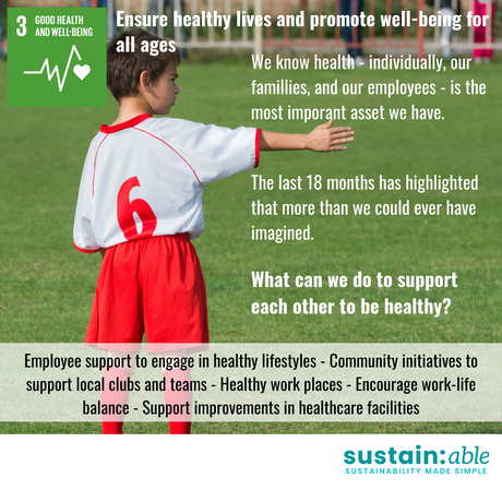 UN Goal 3 – Good health and well-being