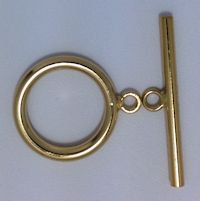 14K Gold Filled Smooth Toggle -20.0mm