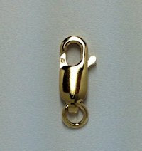 14K Gold Filled Lobster Claw #2 Clasp-4.0 x 10.0mm