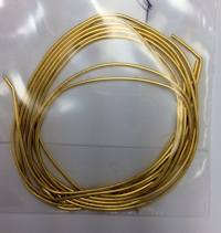 French Wire Gold Plated