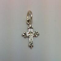 Sterling Silver Medium Cross Charm