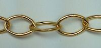 14K Gold Filled X-Large Round Cable Chain