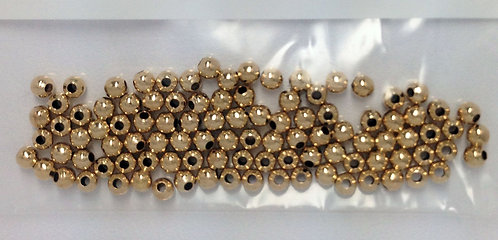 14K Gold Filled Seamless Shiny Beads
