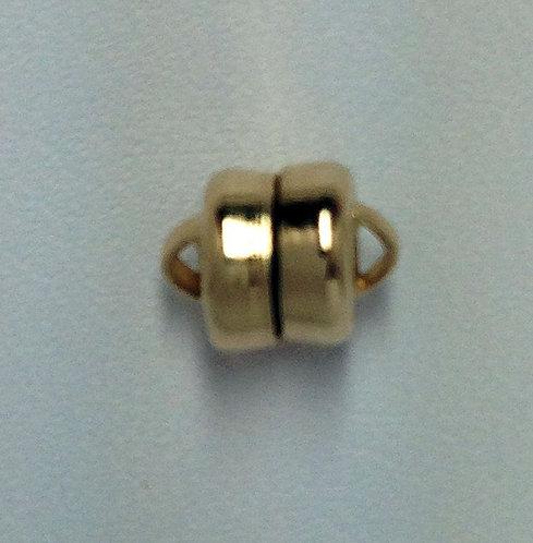 14K Gold Filled 6mm Magnetic Barrel Clasp