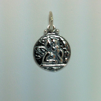 Sterling Silver Raphael Angel Charm
