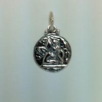 Sterling Silver Raphael Angel Charm