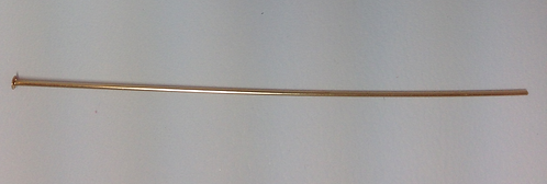 14K Gold Filled Head Pins