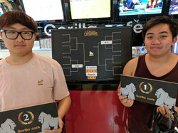 Winners for the 1v1 League of Legends Tournament