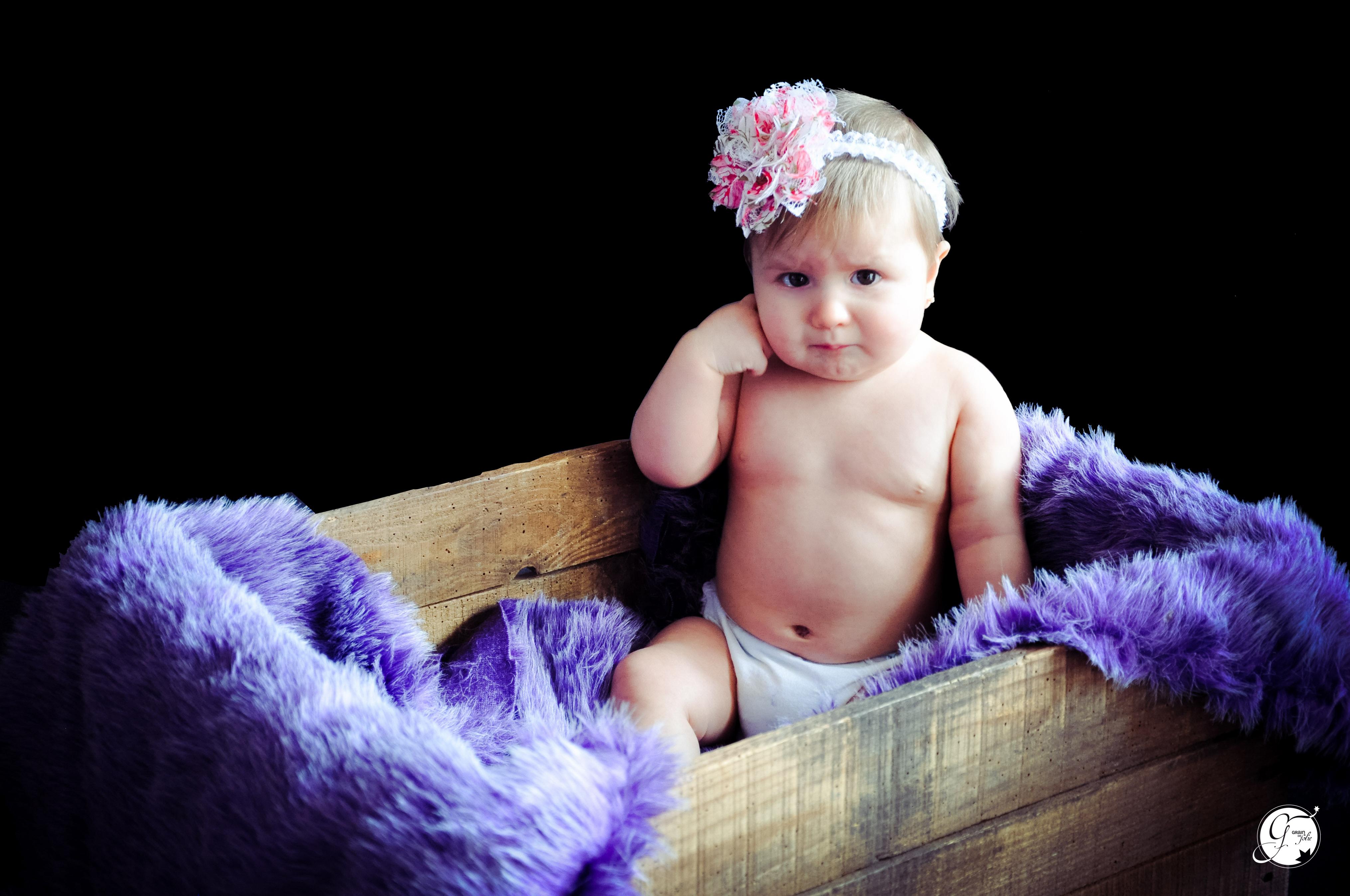 (Mademoiselle Maelia, 9 mois)