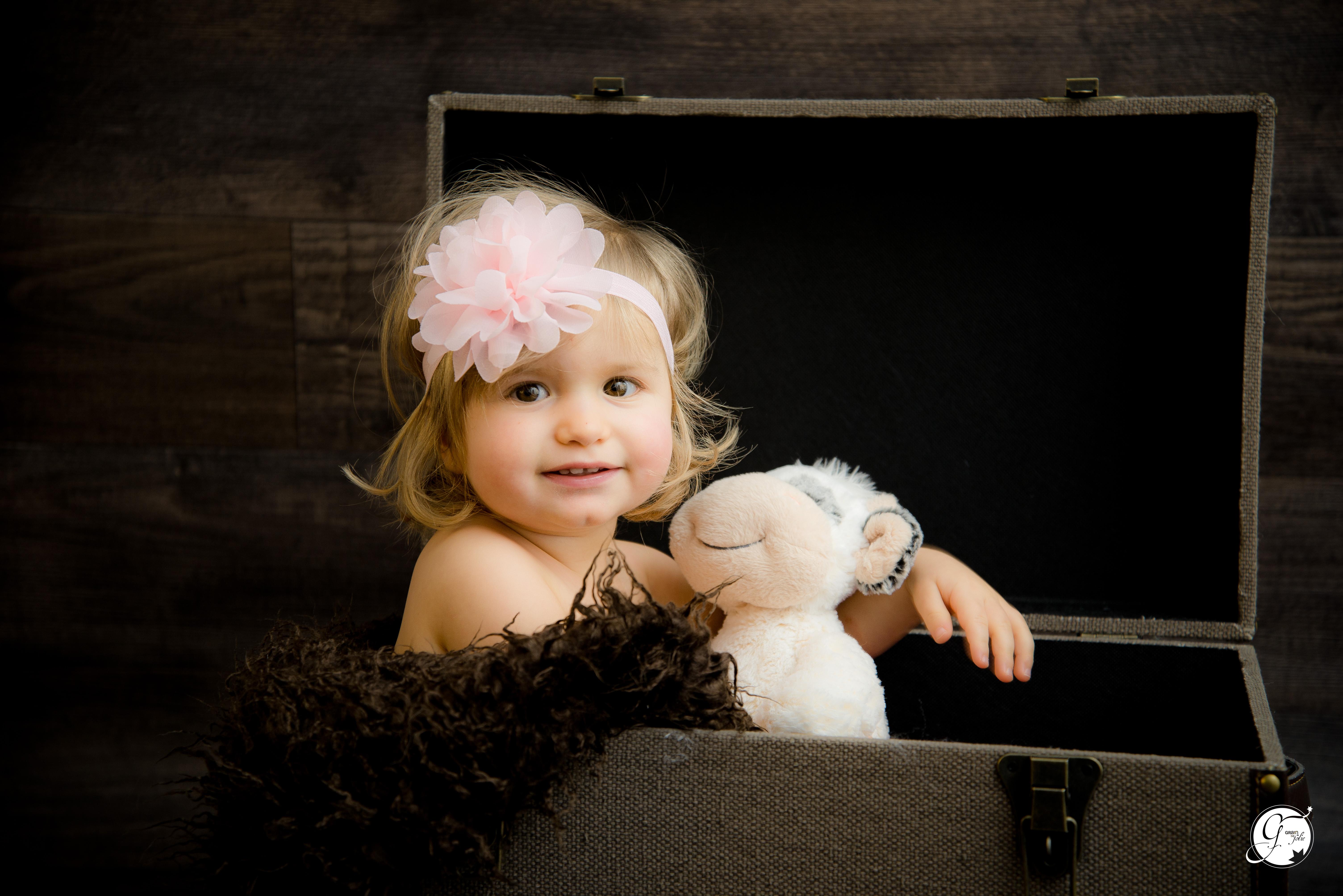 (Mademoiselle Maelia, 2 ans)