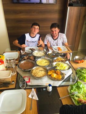 My first Brazilian lunch