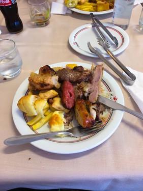 Brazilian steakhouse... dangerous