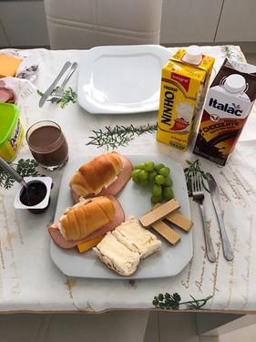 A gorgeous breakfast