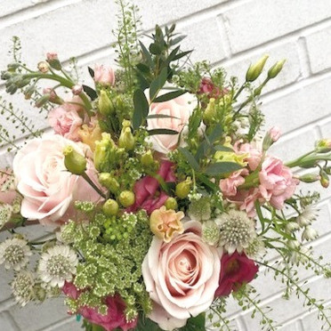 Garden meadow bridal classic