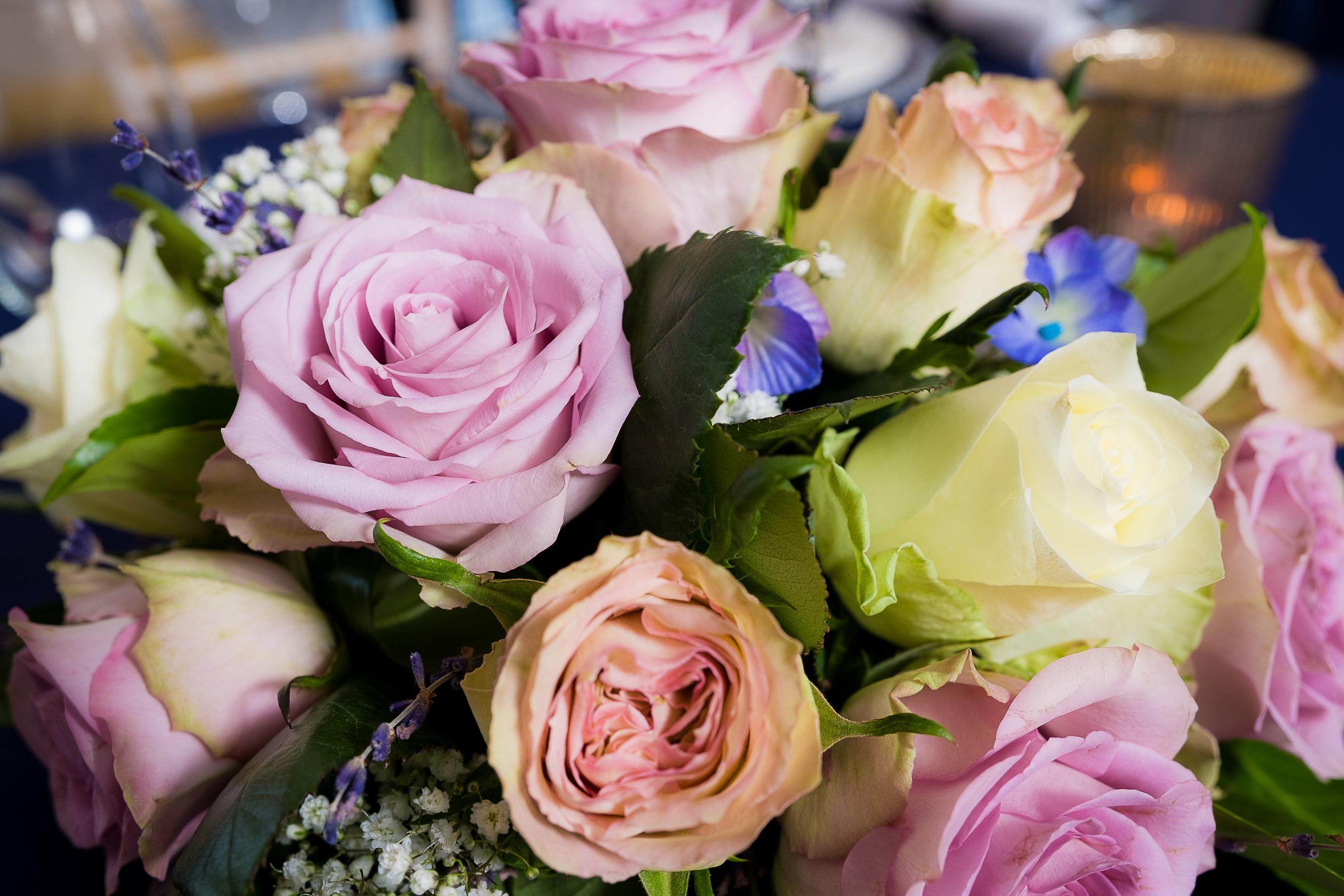 Wedding Blue bouquet