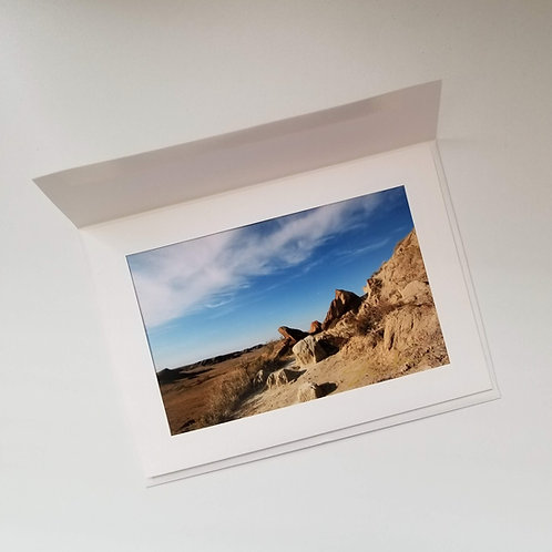 Greeting Card - Badlands to Grasslands 1
