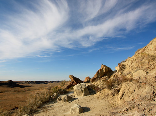 "Badlands to Grasslands 1 (8""x10"" photograph)"