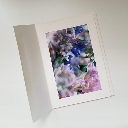 Greeting Card - Time Floats 5