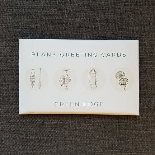 Greeting Cards - Camp