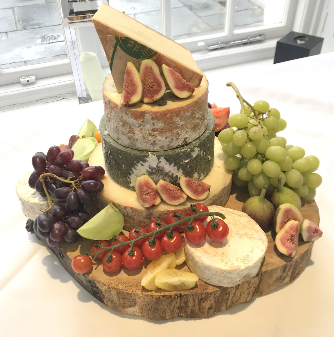 The Cheese Plate wedding cheese stack/cake