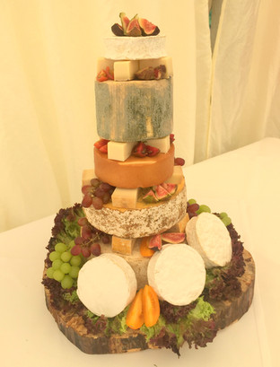 The Cheese Plate wedding stack/cake