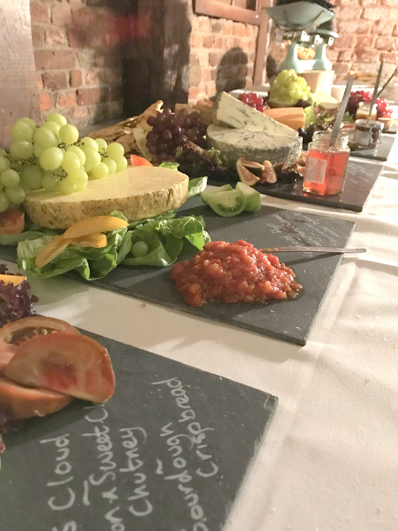 The Cheese Plate wedding slates