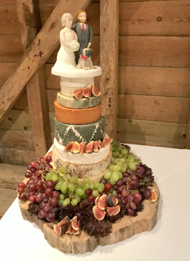 The Cheese Plate wedding stacks/cake