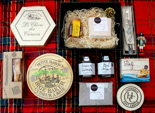The Cheese Plate Christmas Hampers by Sh