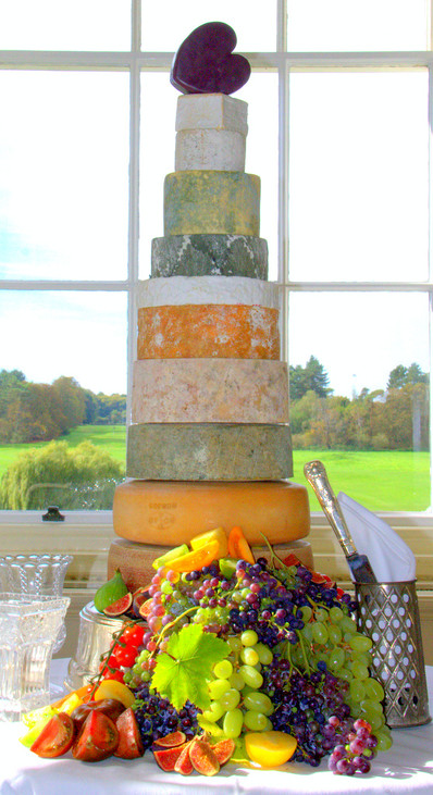 11 Tier Cheese Wedding Stack