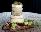 The Cheese Plate wedding stacks/cake