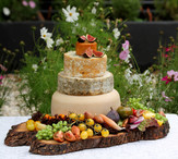 The Cheese Plate wedding cake by Sharon Struckman