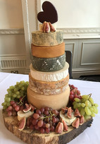The Cheese Plate wedding stacks/cakes